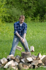 chopping-wood